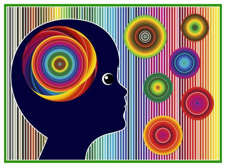 psicologia infantil: La terapia del color para los niños. El color y la luz tiene poder curativo de los niños con trastornos emocionales