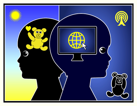 internet education: Technology changes Childhood. Computer and Internet have changed the way of thinking and behavior in Early Child Education