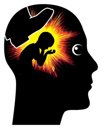 Los recuerdos de abuso infantil. El castigo corporal y la violencia doméstica se memorizan largo de la vida