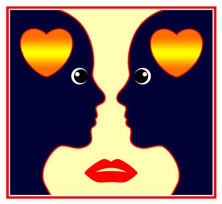 personalidad: Desorden de personalidad narcisista. Muestra del concepto de una mujer ego�sta y auto amante