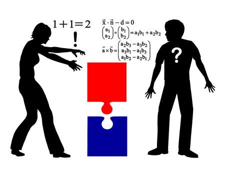 cognicion: Diferencia en la resoluci�n de problemas. Los hombres y las mujeres se acercan a problemas de diferentes maneras