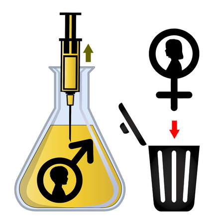 in vitro: En Selección de Género Vitro. Los embriones se están genéticamente seleccionados y ordenados a cabo