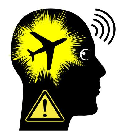 ruido: La contaminación acústica por aeronaves. ruido de los aviones tiene efectos negativos sobre la salud de las personas