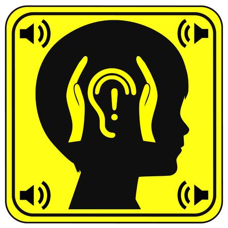 contaminacion acustica: Protección auditiva para los niños. Proteger el oído de los niños de la carga de ruido con el fin de evitar la pérdida de la audición