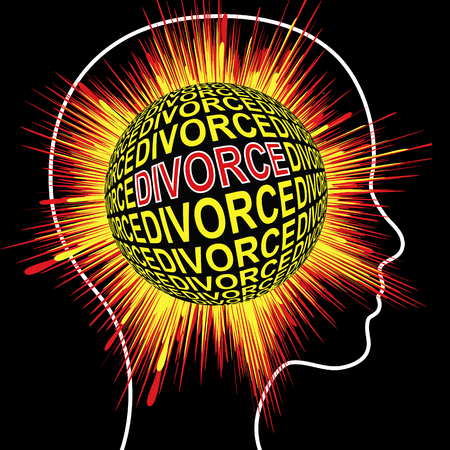 spousal: Shock Divorce Syndrome. Wife suffers mentaldisorder When husband files for separation without warning