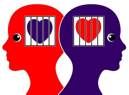 discreto: Hidden Secret Love Lesbian. Dos mujeres en el amor y el miedo de salir