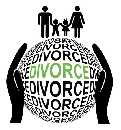 amicable: Amicable Divorce and peaceful. Couple separate by mutual agreement to Their advantage