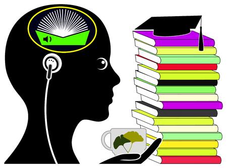 Audio Boeken voor studenten. Relaxed examenvoorbereiding door te luisteren naar digitale audio books