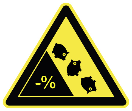 deflation: Warning Deflation Ahead. Negative interest rates Means losing money