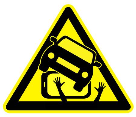 poner atencion: Tel�fono celular Car Crash Causando. Muestra del concepto de prestar atenci�n DID a trav�s de tel�fonos inteligentes en el tr�fico es peligroso