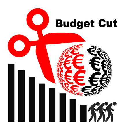 implication: Budget Cuts Kill Jobs. Employees losing Their work When company cutback the budget