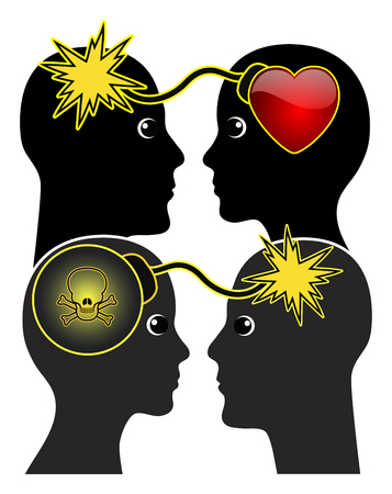 Thin Line between Love and Hate. Adoration can turn into blind hatred quite easily.