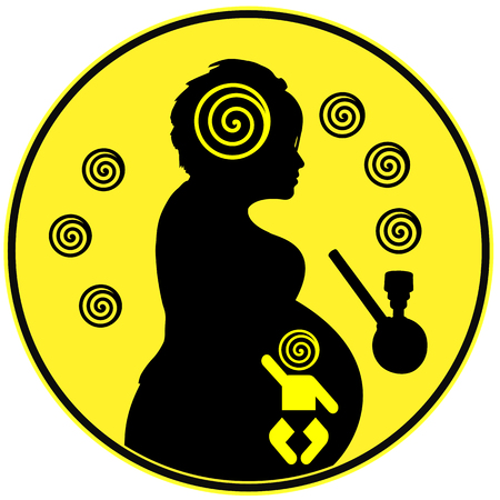 expectant mother: Marijuana during Pregnancy. Expectant mother smoking pot harms the unborn baby