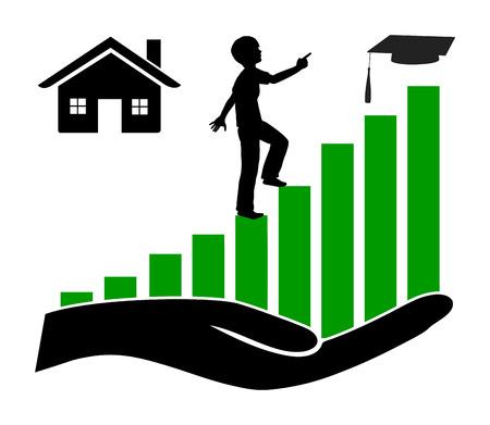 プライベートの家で家庭教師します。プライベート レッスンは、学生の学業成績を向上させる