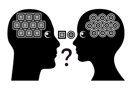 misconception: Gender Misunderstanding. Men and women have different structure of thinking leading to communication conflicts