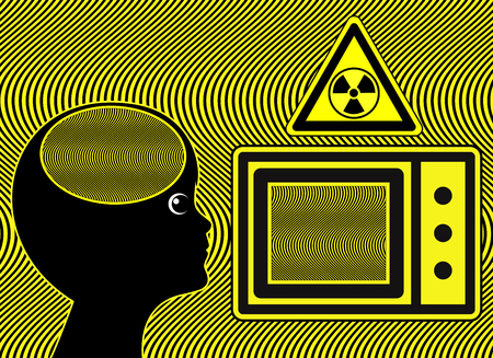 Microwave Oven harm kids. Electromagnetic wages may harm the brain development of young children