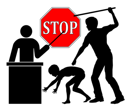corporal: Stop spanking at school. Put a ban corporal punishment through teachers in public education