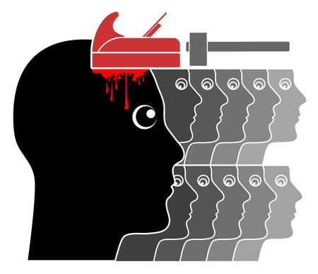 indoctrinate: Political Brainwashing. The concept, did human mind can be altered and controlled