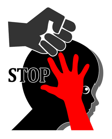 Stop Violence against Kids. Appeal to end any kind of cruelty against children