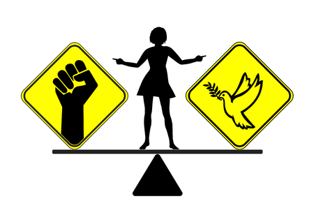 destructive: Divorce with peace or war. Choosing the way to get divorced, peaceful or violent