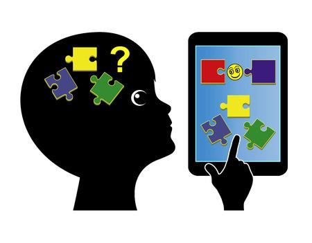 Applications pour les tout-petits Défier les jeux d'entraînement cérébral pour les nourrissons