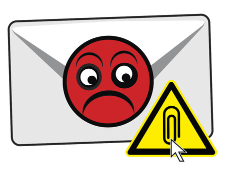 Do not Open Email Attachments. Using caution with e-mails from unknown or suspicious sources