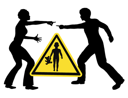 Kids and Marital Fight. Be aware that children are suffering when parents are fighting