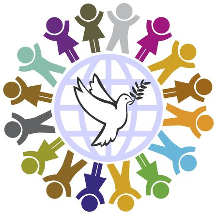 Kids Wish for Peace on Earth. Children vote for a peaceful world
