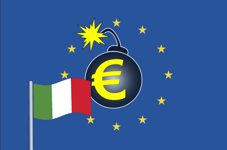 Italy sparks Euro crisis. The next European monetary crisis is by the Italian Government, which plans to over-spend the financial year for the coming year