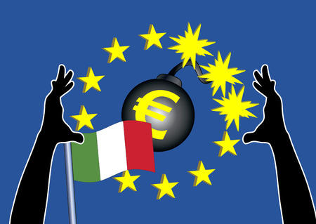 Euro rescue plan for Italy. The Italian Government is testing the banking bail out system, since there are plans to drastically overspend the financial budget for 2019