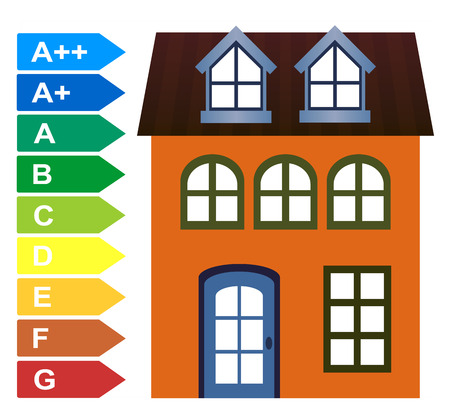 Home Energy Audit. Measurement to reduce the energy consumption of residential or commercial properties Banco de Imagens