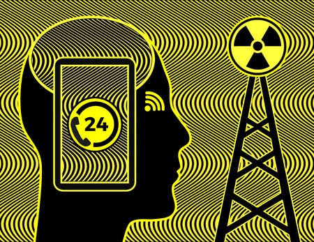Smartphones and radiation exposure. Phone towers increasing the risk of health problems