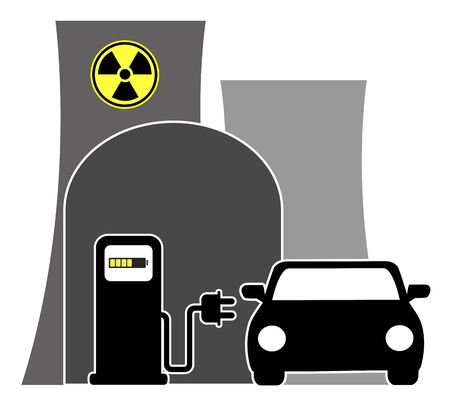 E-cars want demand atomic energy. E-Vehicles wants electricity produced by nuclear power plants in the future