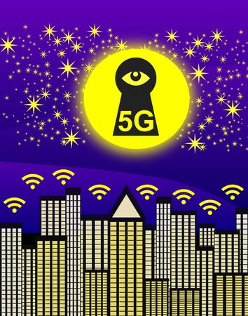 5G with potential security threats. The next generation networks collect huge amounts of data in big cities and are a threat to privacy