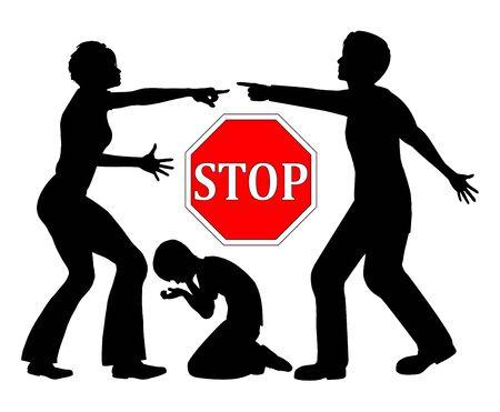 Stop marital quarrels. Children are suffering when parents fight.