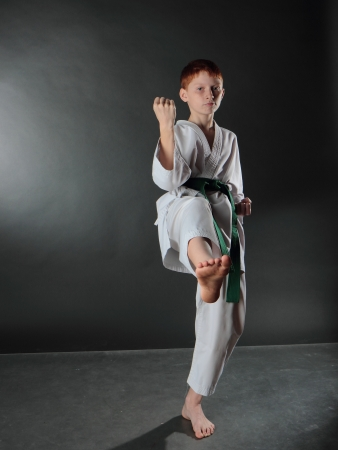Young Karate Man  photo