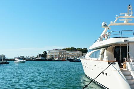 Sochi sea port.