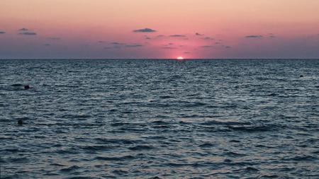 Sunset at the Black Sea
