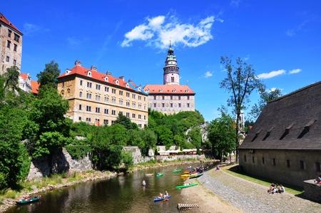 bohemia: Czech Krumlov - UNESCO town in South Bohemia Editorial