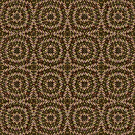 obnoxious: Brown hippie pattern texture Stock Photo