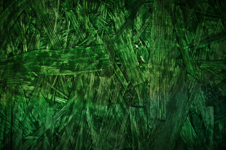 particle: Green wooden particle board pattern background Stock Photo