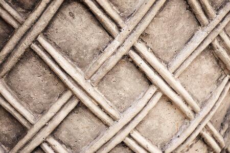 of beige: Beige ceramic pattern