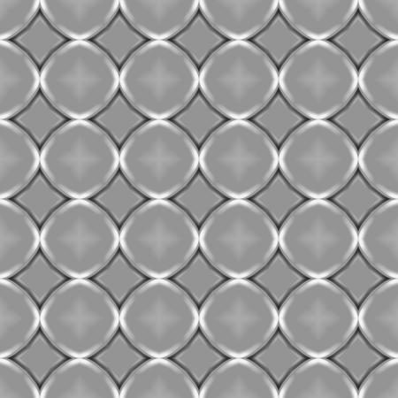 circles pattern: Simple ornamental circles seamless pattern Stock Photo