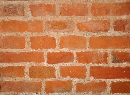 underlay: Simple red brick wall background or underlay