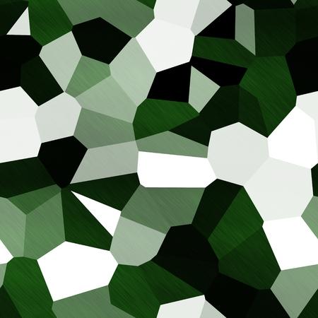 camoflage: Green and khaki shapes background Stock Photo