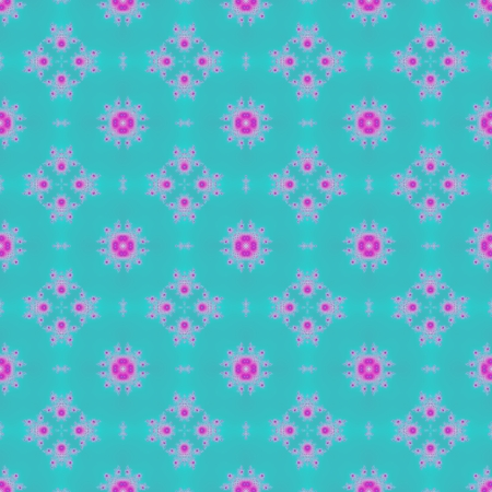 secession: Beautiful ornate floral seamless kaleidoscope pattern