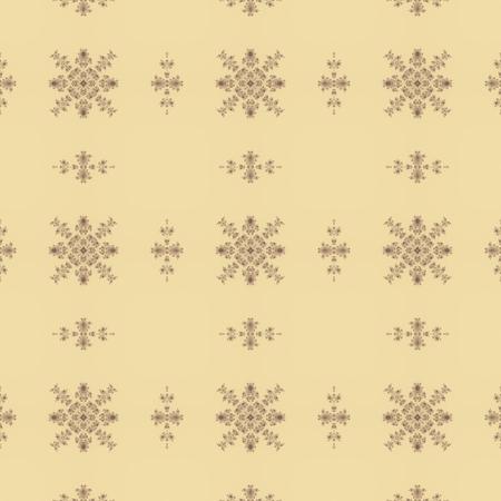 creamy: Creamy delicate antique seamless design