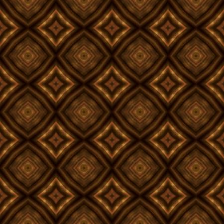 ecru: Bright brown ornamental design wallpaper pattern Stock Photo