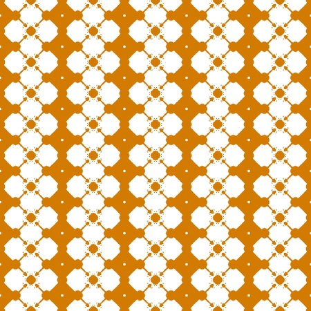 ochre: Orange ochre decorative wallpaper pattern design