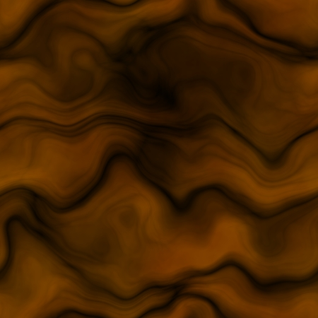 ochre: Ochre orange background decorated curves and waves Stock Photo